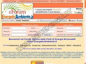 Forum EnergeticAmbiente.it