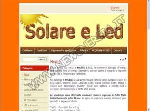 Solare e Led
