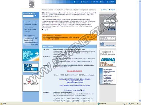 CO.AER – Associazione Costruttori di Apparecchiature ed Impi