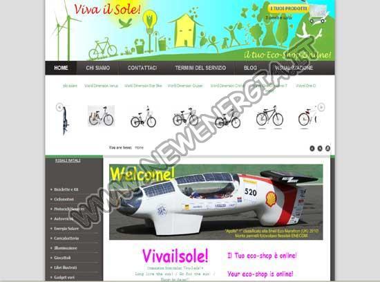 Viva il Sole - Eco-shop Online