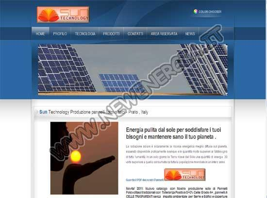 Sun Technology - Produzione Moduli Fotovoltaici