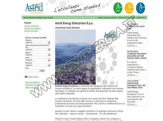 Astrid Energy Enterprises Spa