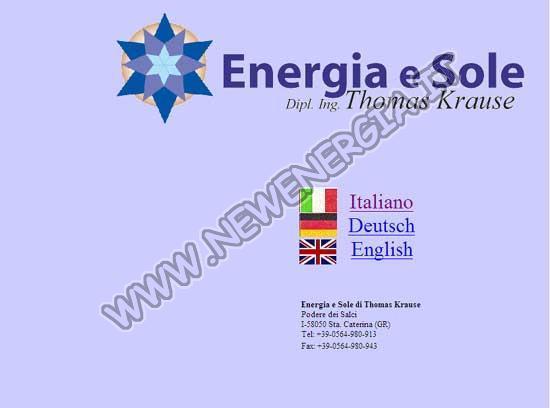 Energia e Sole